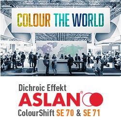 Neu: Aslan® Dichroic Colourshift Folien