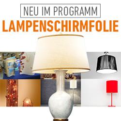 Neu: Aslan® Lampenschirmfolien aus Hart-PVC
