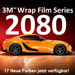 3M Wrap Film 2080 Serie: Jetzt 17 neue Farben!