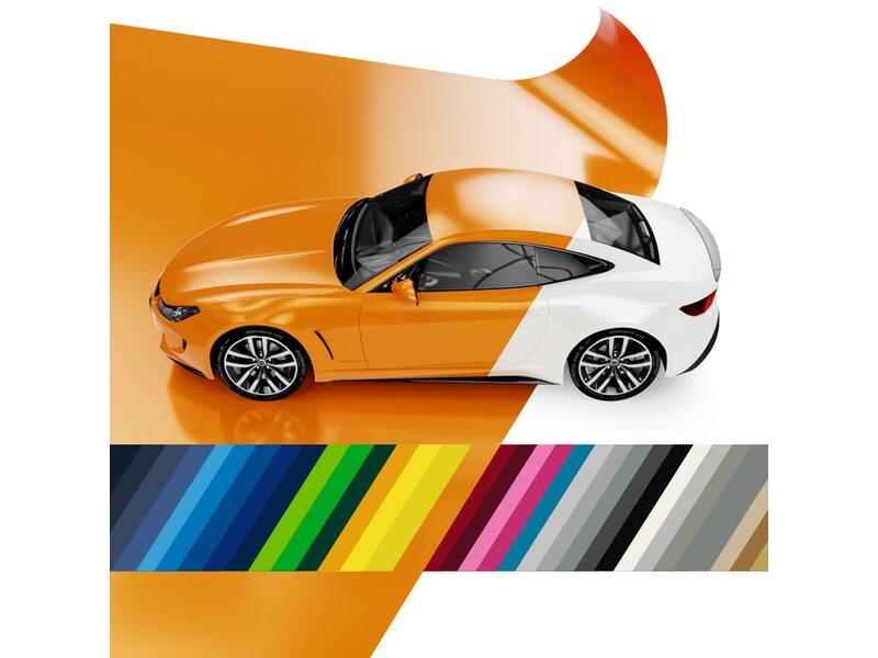 5,20€//m² Premium Autofolie Schwarz matt Selbstklebend Luftkanäle