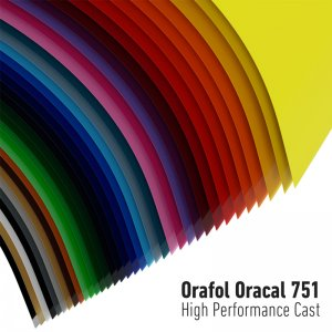 ORACAL® Farbfolie 751C High Performance Cast Serie, (Bild...