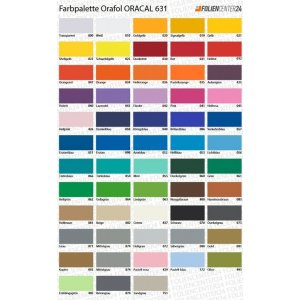 ORACAL® Farbfolie 631 Exhibition Cal Serie, (Bild 1)...