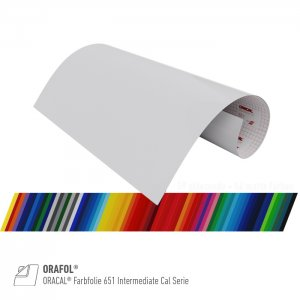 ORACAL® Farbfolie 651 Intermediate Cal Serie, (Bild 1)...
