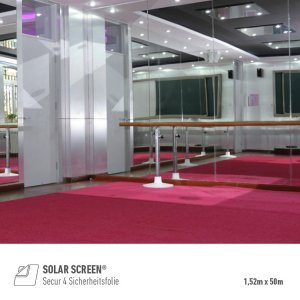 SOLAR SCREEN® Secur 4 Sicherheitsfolie (152cm x 50m),...