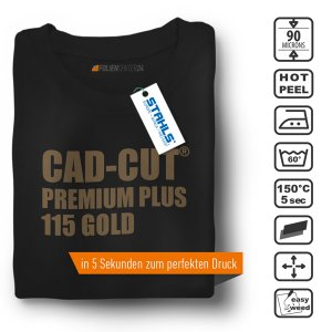 STAHLS® CAD-CUT® Premium Plus Flexfolie 115 Gold DIN A4...