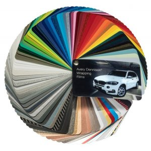 Avery Dennison® Supreme Wrapping Film Farbfächer, (Bild...