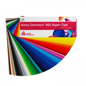 Avery Dennison® 900 Super Cast™ Serie Farbfächer,...