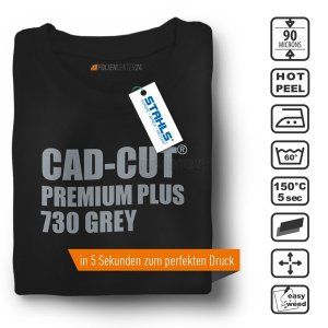 STAHLS® CAD-CUT® Premium Plus Flexfolie 730 Grey, (Bild...
