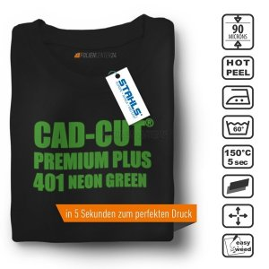 STAHLS® CAD-CUT® Premium Plus Flexfolie 401 Neon Green,...