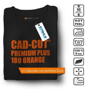STAHLS® CAD-CUT® Premium Plus Flexfolie 180 Orange, (Bild...