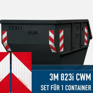 3M™ Container-Warnmarkierung 823i (1 Container),...