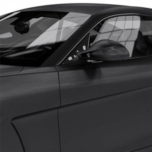 Avery Dennison® Supreme Wrapping Film Extreme Textured Brushed Black, (Bild 1) Nicht farbechte Beispieldarstellung