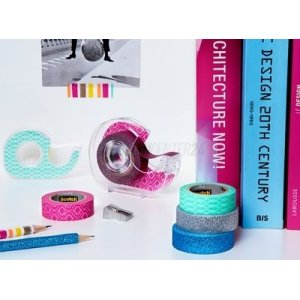 3M™ Scotch Expressions Washi Tape Blue Cracked...