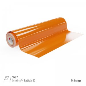 3M™ Scotchcal™ Farbfolie 80-14 Orange, (Bild...